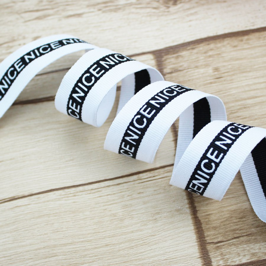 Printed Letters Unique Style Webbing Band