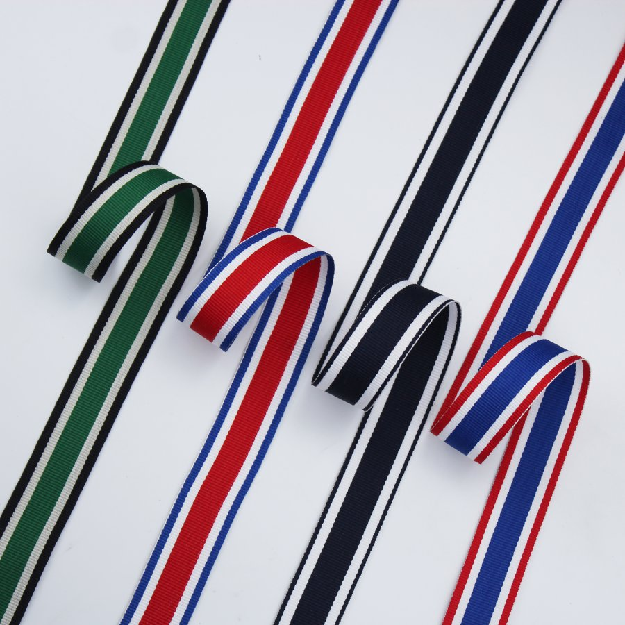 three color webbing tape