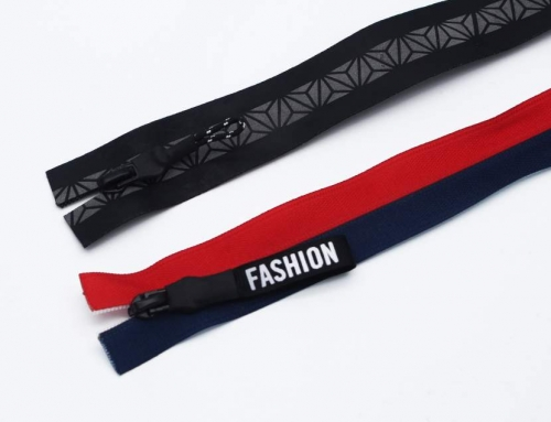 Attractive Fashionable Decorative Zipper, OEM/ODM Support