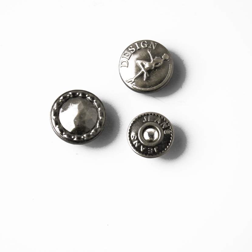 High Quality Metal Head Button, OEM/ODM Support