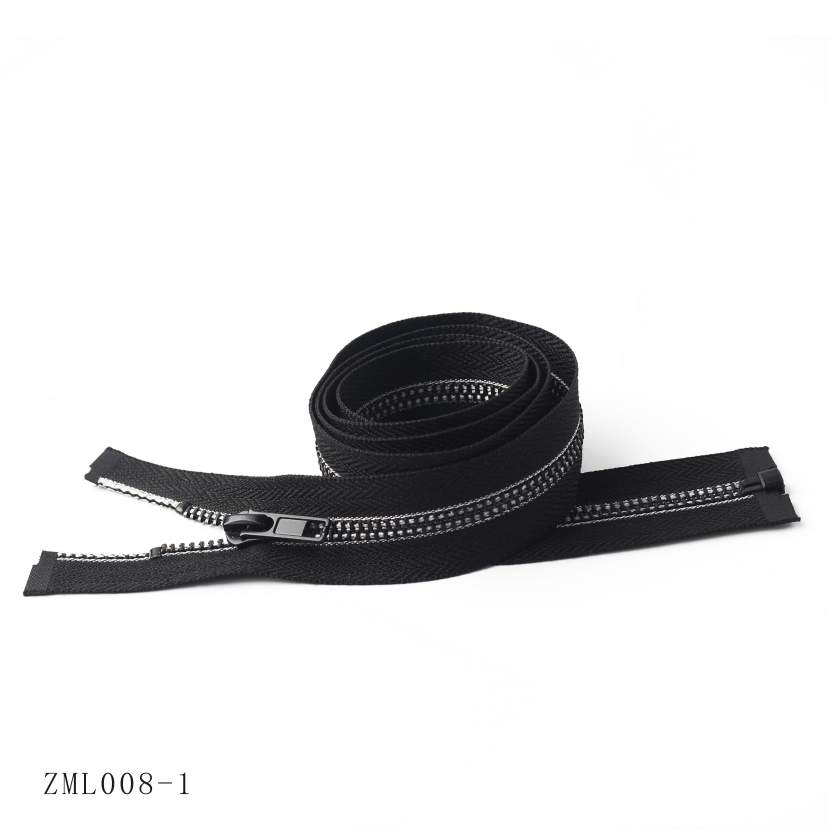 Resin Waterproof Cotter Zipper, OEM/ODM Support