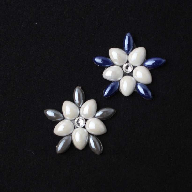 15 Style Geometry Flowers High Temperature Hot Resin Rhinestone Accessory