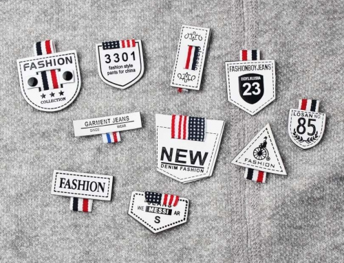 16 Style Very Special Letter Printed Leather Labels