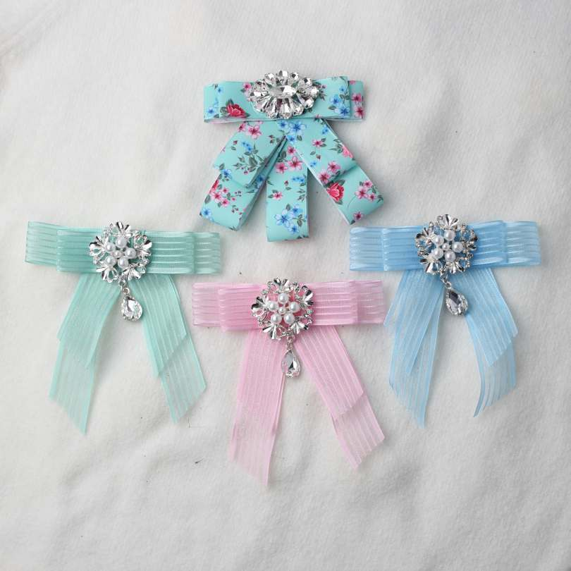 4 Style Vivid Color Bowknot Accessories With Special Design