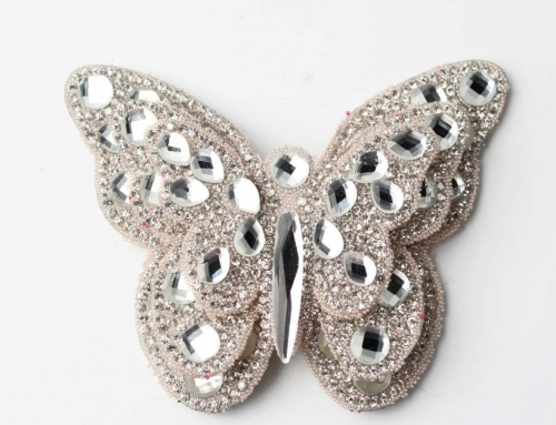 One Very Unique Bowknot Crystal Rhinestone Design Diamond Ornaments