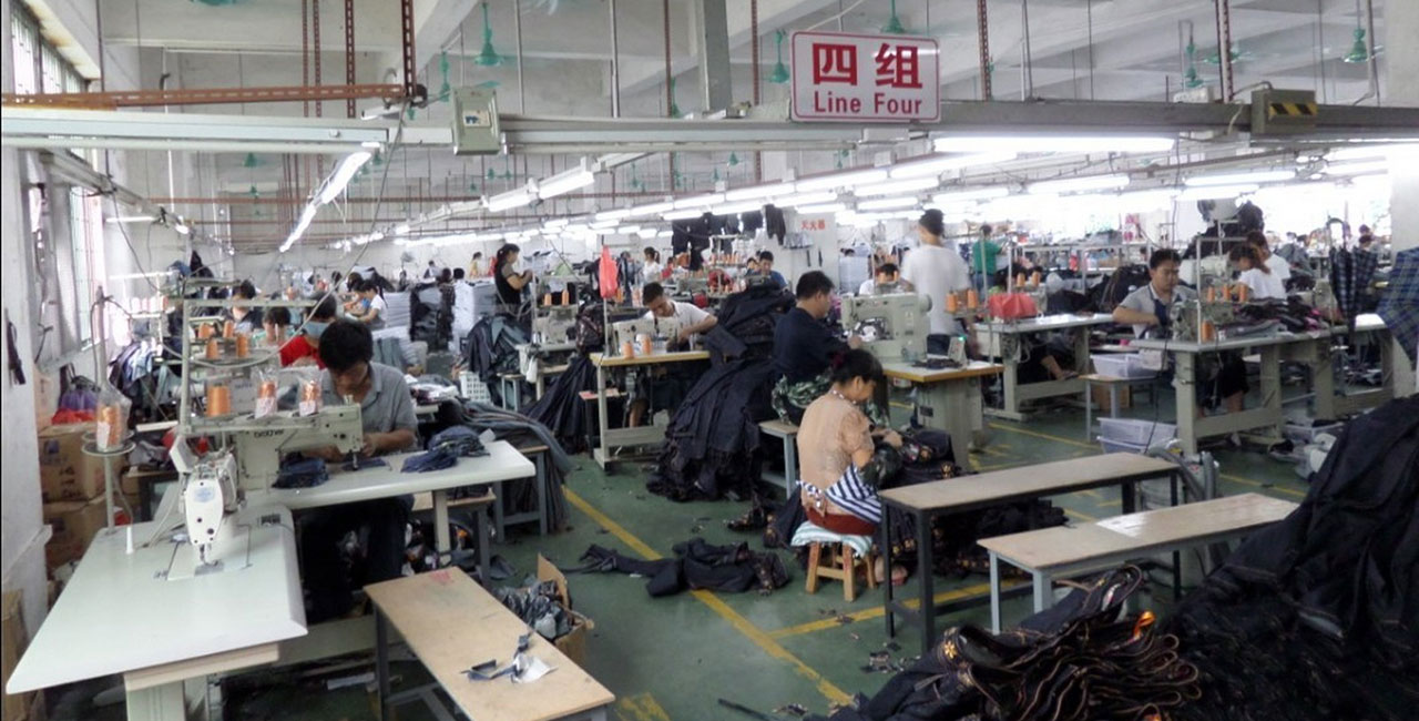 clothing production line