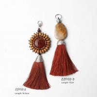 Bohemian ethnic tassel hanging ornaments