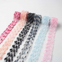 8 Style Multi Color Lace Webbing  Transparent Ribbon Lace
