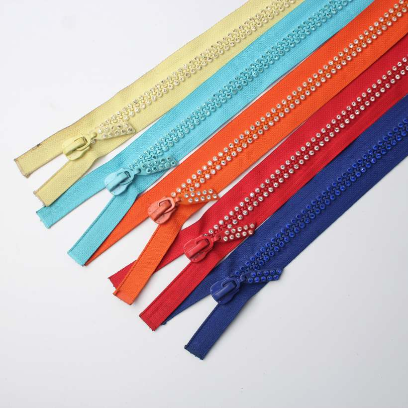 lace zippers