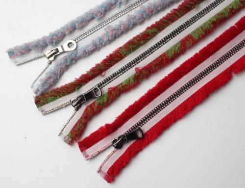 Unique Style Blurs Zipper Metal Teeth Decorative Zippers
