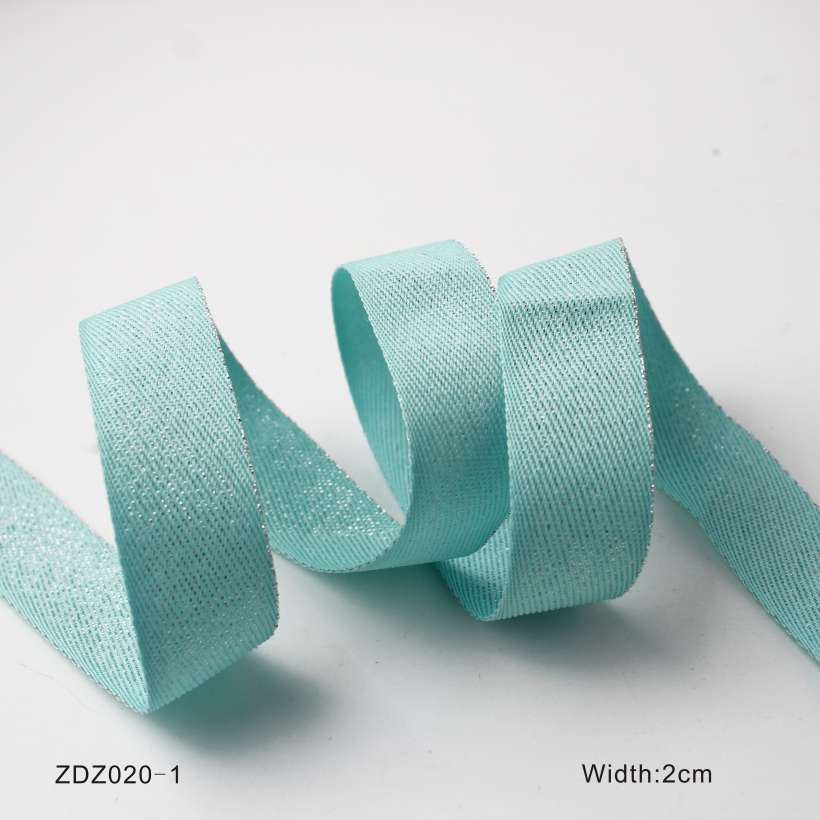 10 Design Tinsel Colored Twill Tape Webbing,OEM/ODM Various Webbing