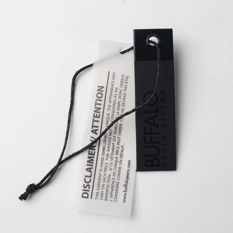 high quality garment hang tag