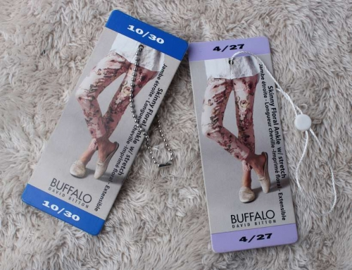 2 Very Unique Design High Quality Garment Hang Tags, OEM/ODM Hang Tags