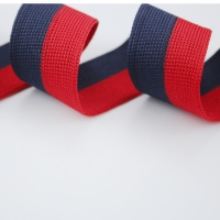 Two Color Knitting Webbing Tape