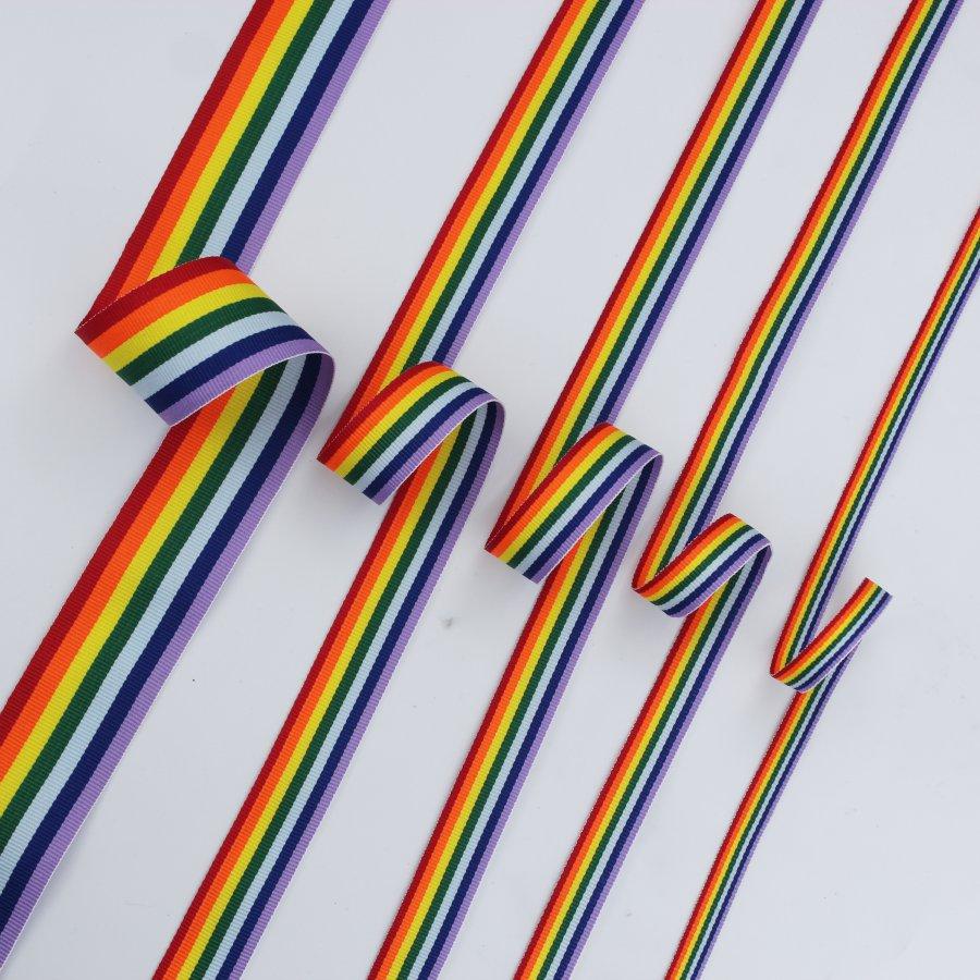 rainbow seven color webbing
