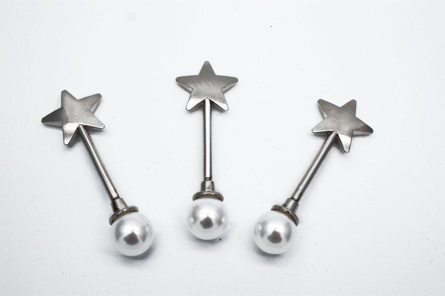 Unique Design Pearl Inlaid Metal Plate