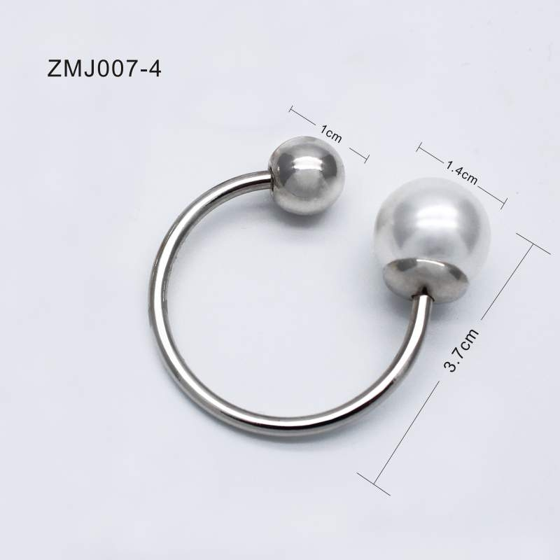 metal plate for garment accessories