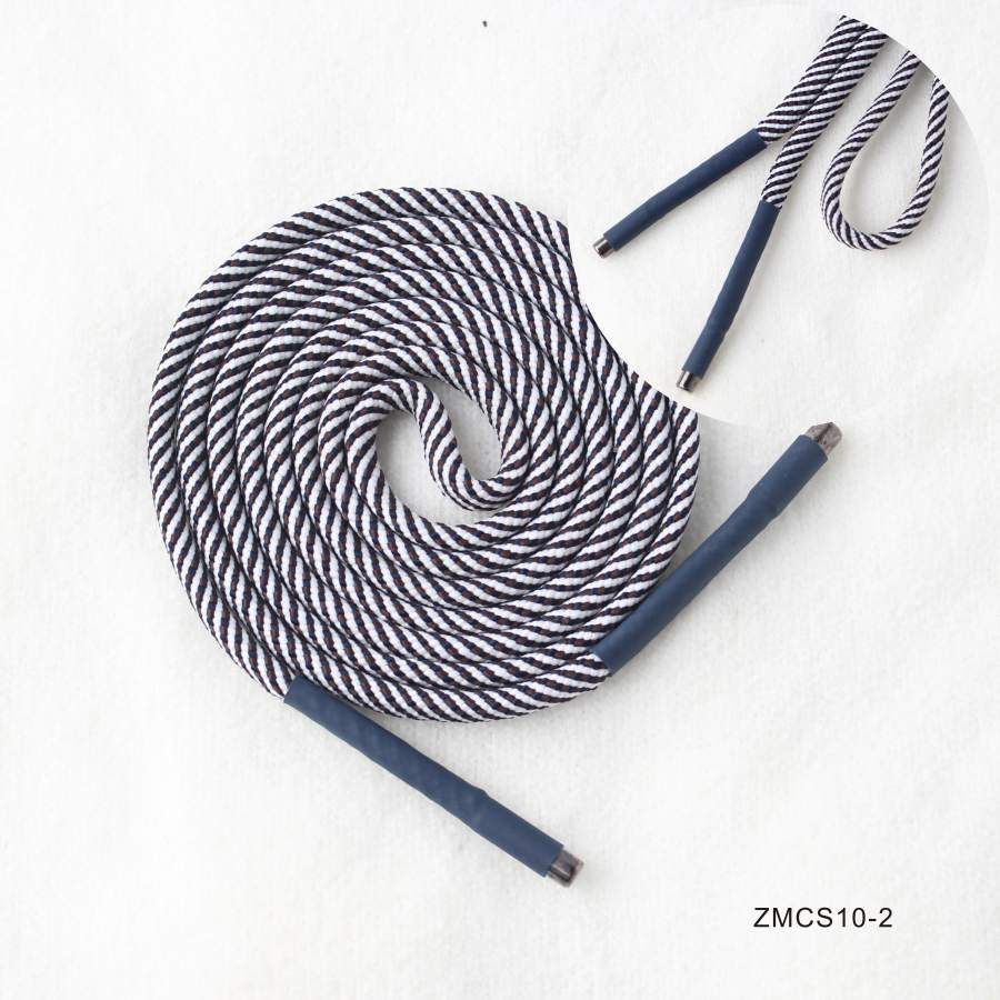 overlapping curve round drawstring