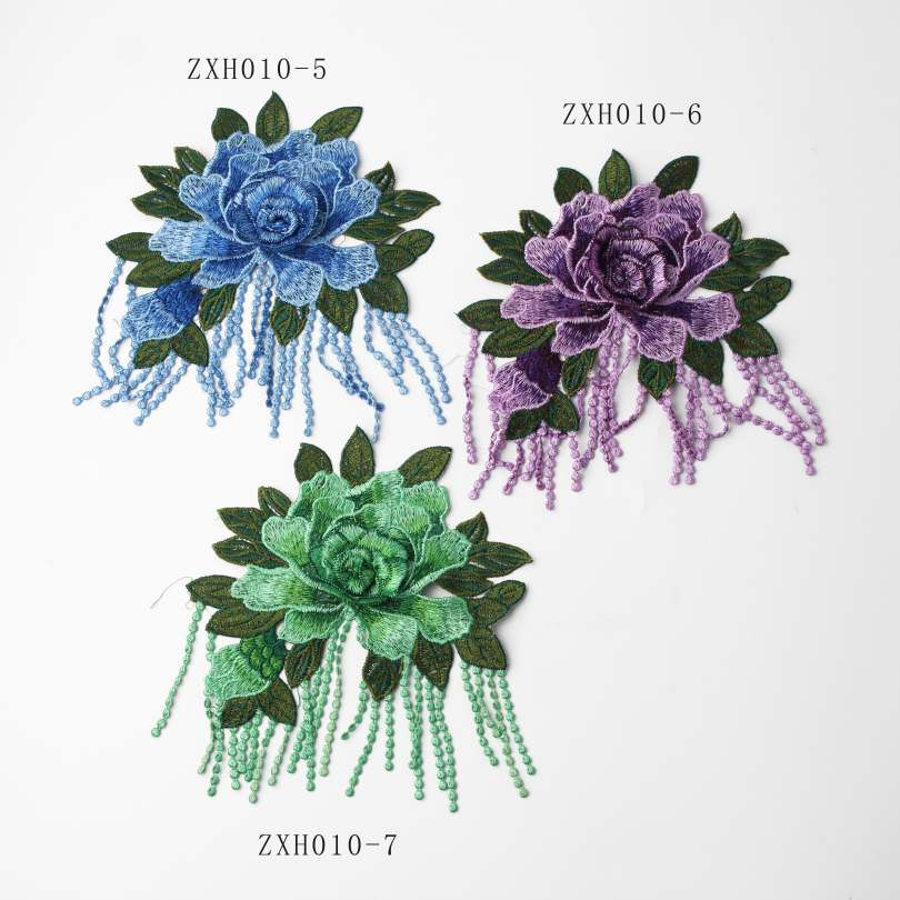 15 Unique Style Appliques With Special Flower Design