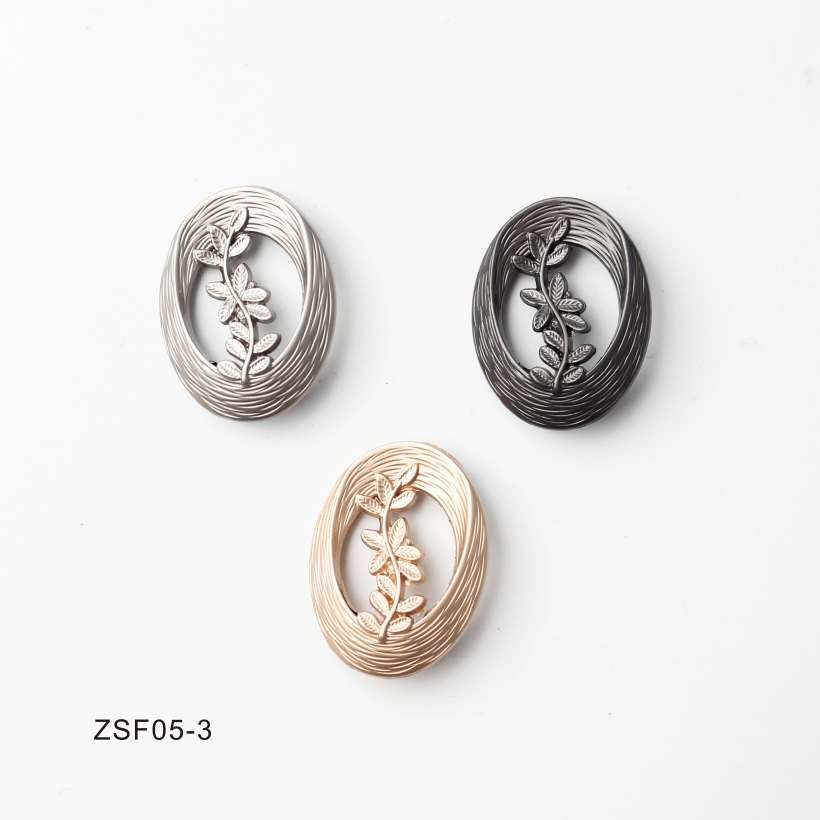 8 Style High-End Electroplating Hardware Hand Sewing Buttons