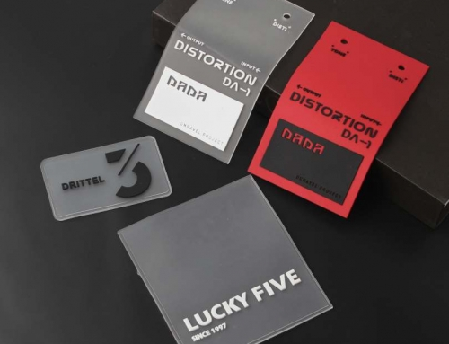 6 Style Unique Design Leather Labels With Different Shape