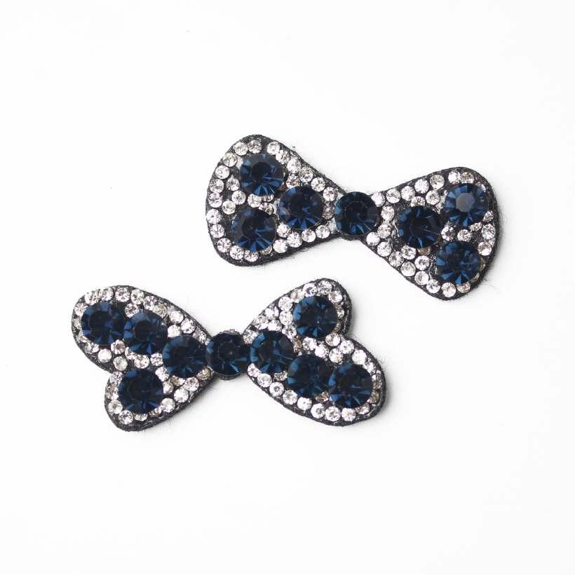 rhinestone bowknots pendant