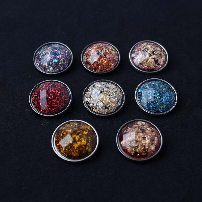 Great Fashion Design Transparent Resin Hand Sewing Buttons