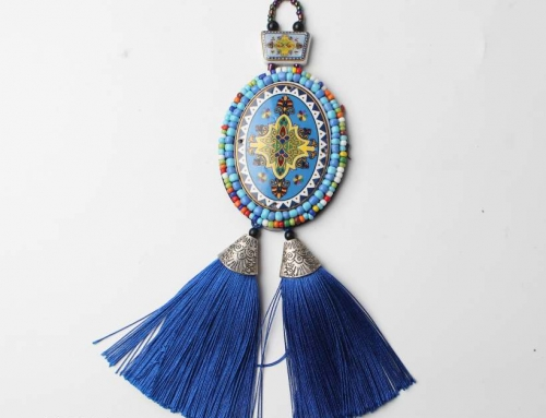 9 Bohemian Sweater Hanging Ornaments Pendant