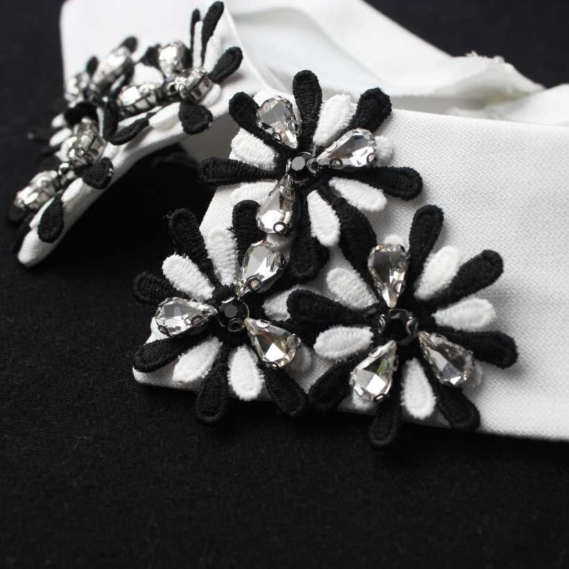 Nail Bead Fake Rhinestone Diamond Collar