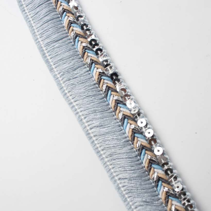 15 Style Metal Sequin Braid Webbing,Very Fashion Decorative Webbing