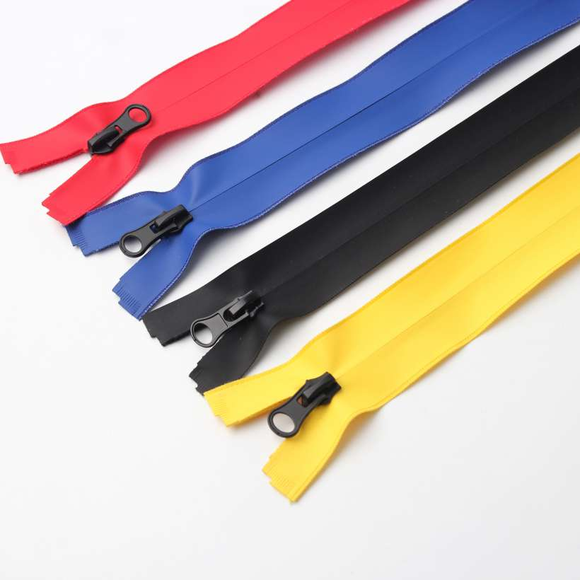 Color Pu Tape Water Resistant Zipper