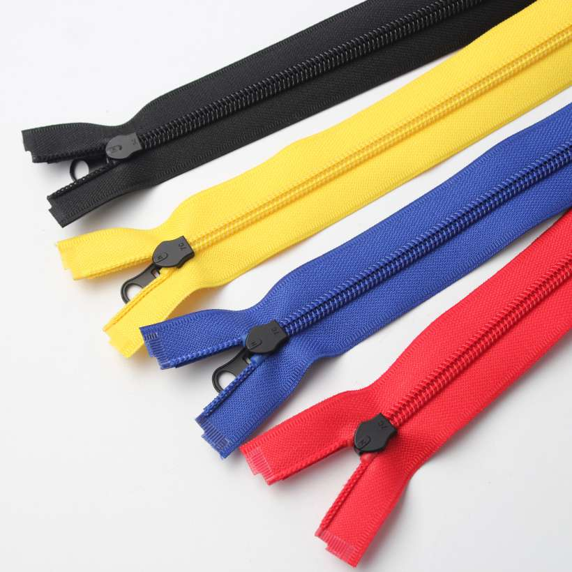 4 Style Color Pu Tape Water Resistant Zipper