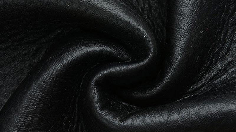 Black Fur Faux Fur Fabric