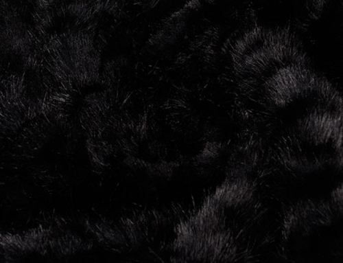 Achromatic Fur Faux Fur Fabric
