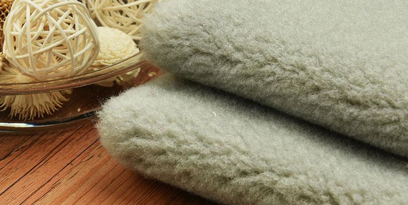 Blue Gray Fur Faux Fur Fabric