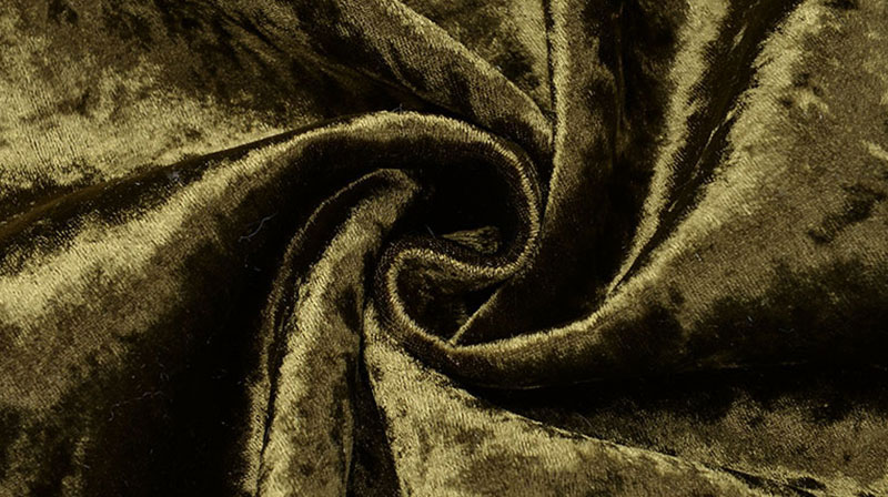 Green Fur Faux Fur Fabric