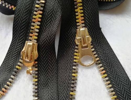 #5 Rainbow Color Corn Tooth Metal Zipper